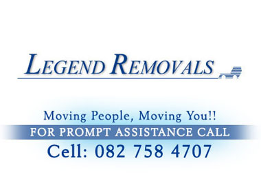 Legend Furniture Removals - Legend Removals is a family owned company based in Pretoria, specialising in household removals, furniture removals, furniture transportation, office removals and relocation services.